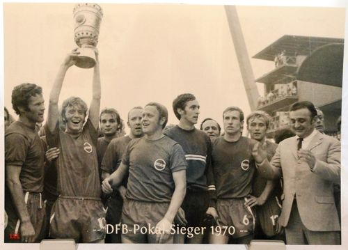 Kickers Offenbach + DFB Pokal Sieger 1970 + F107
